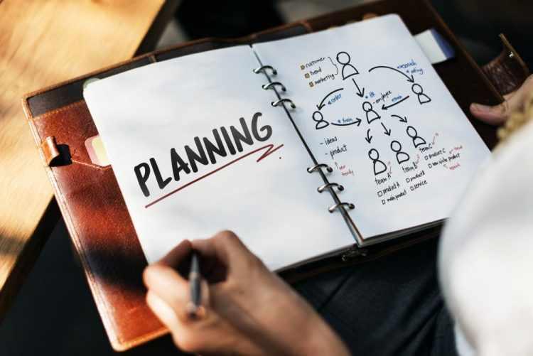 Планирование в дневнике
