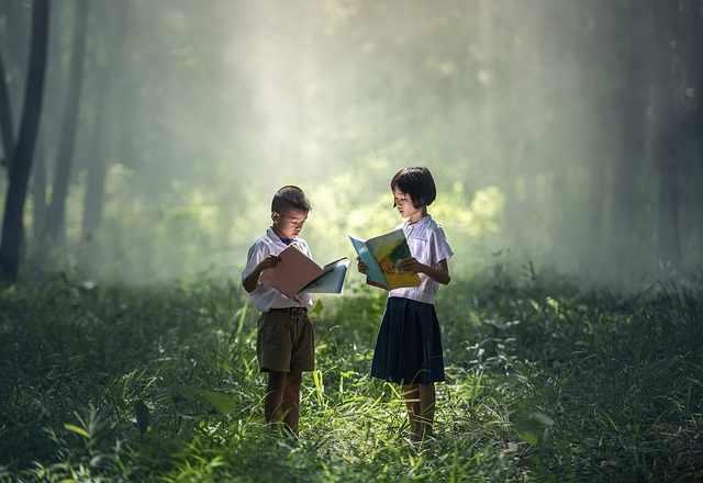 Чтение книг вдохновляет
