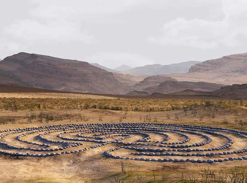 пустынный лабиринт