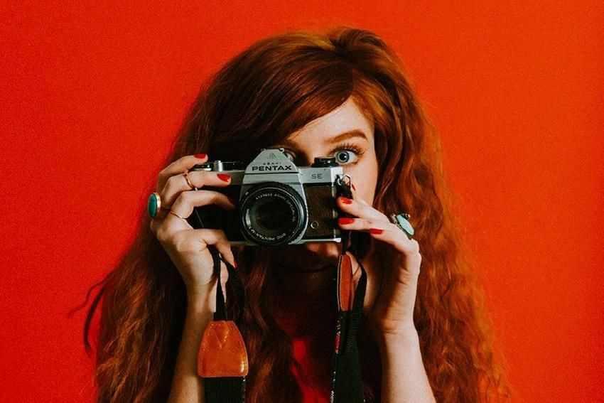 уверенность на фотосесии