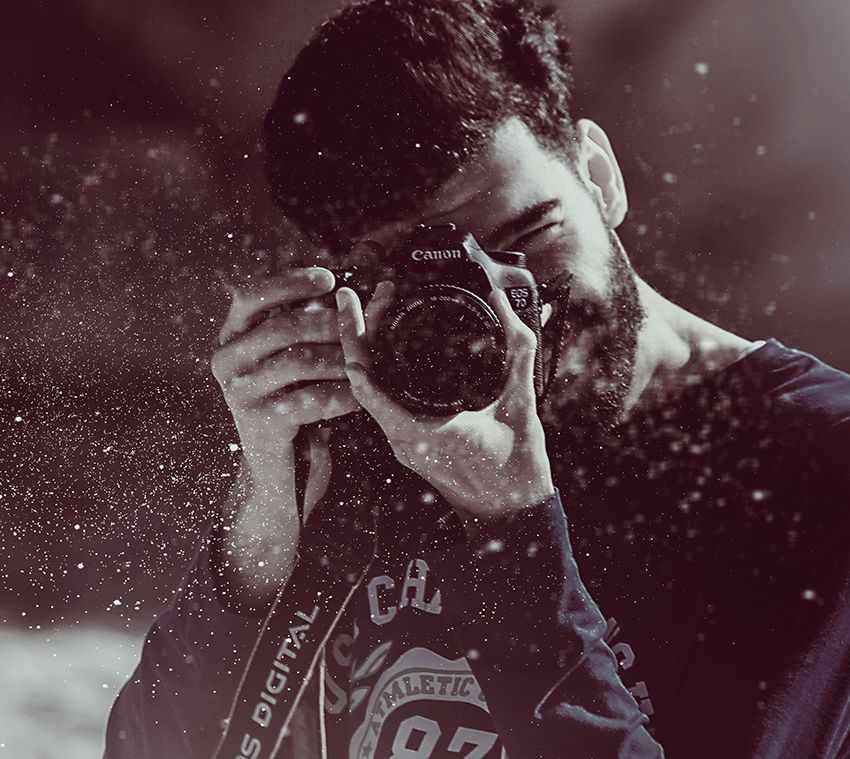 высокий темп жизни у фотографа