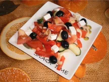 легкий салат на ужин8