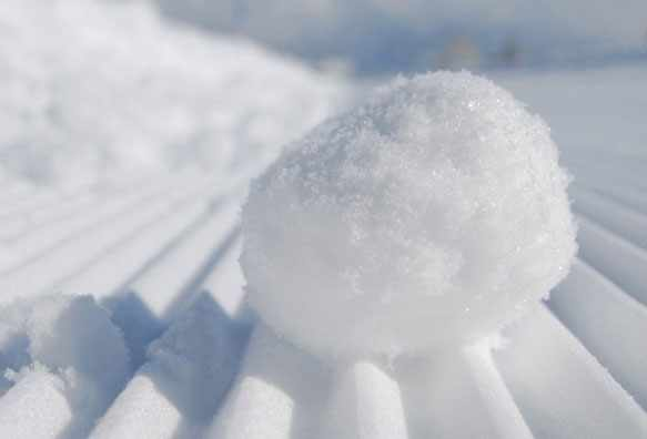 Снег во сне