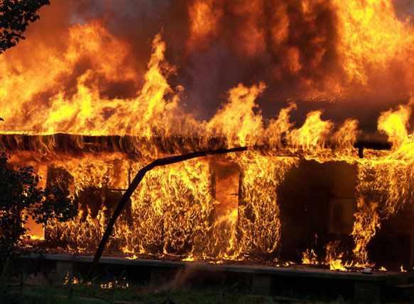 снится горящий дом
