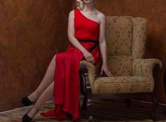 снится красное платье