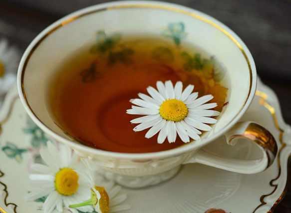 Как приготовить чай из ромашки