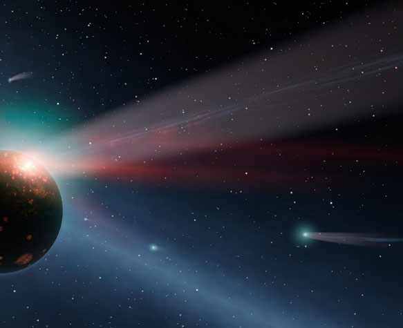 снится комета