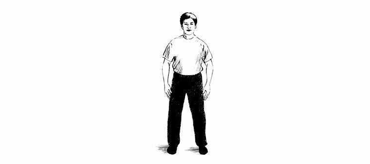 Основное упражнение — стойка Ву-Цзи