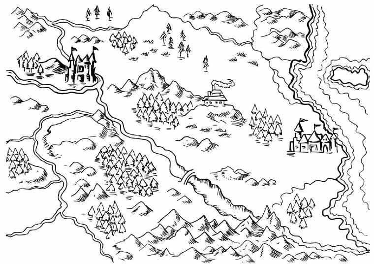 Карту сновидений важно зарисовать
