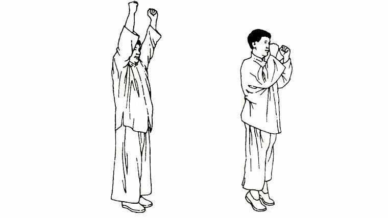 Золотые Упражнения Цигун — Подъем Пяток