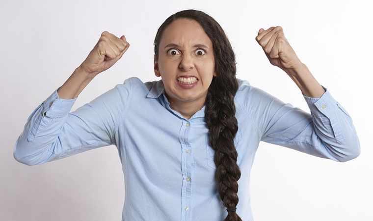 Крик для избавления от гнева