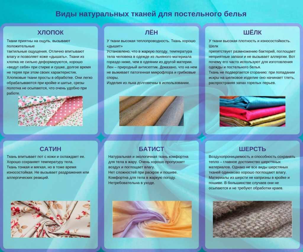 выбор ткани как сшить наволочку