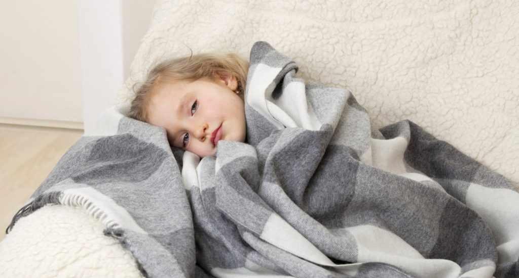 Также может быть ребенок просто простудился