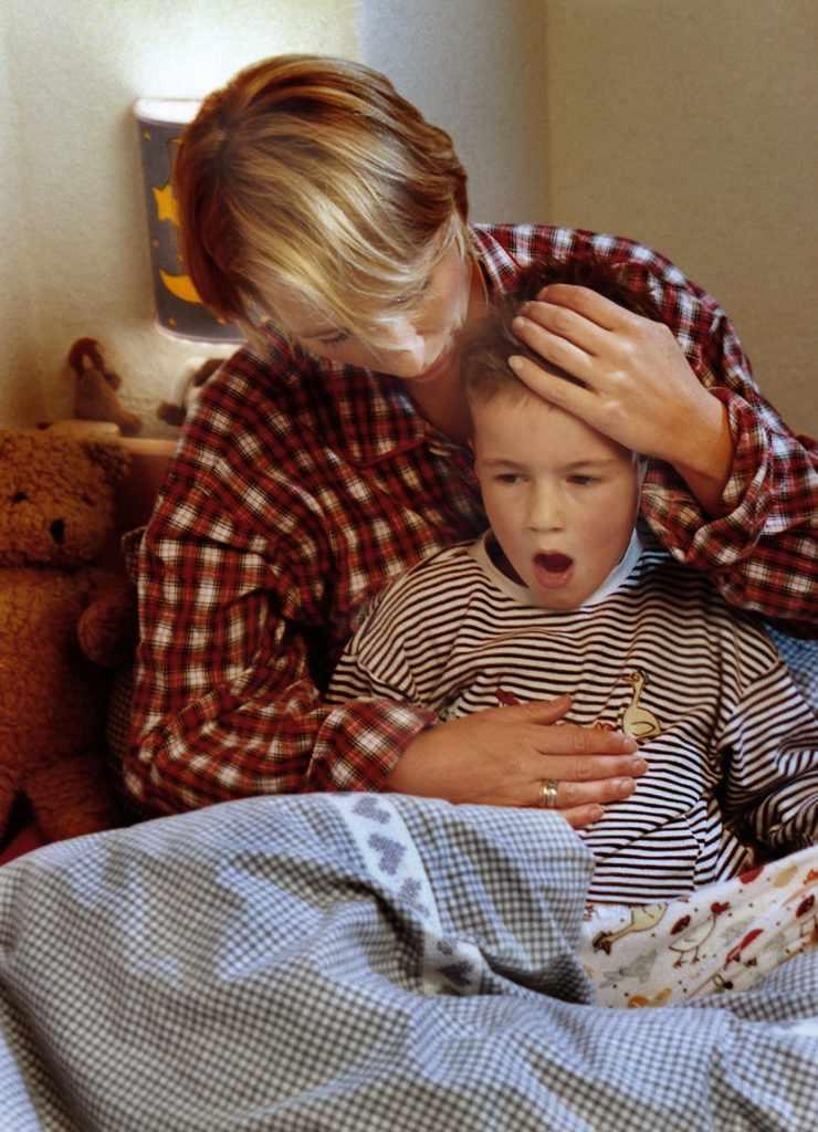 какие причины вызывают кашель до рвоты у детей