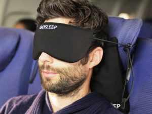 Подушка надувная для сна в самолете
