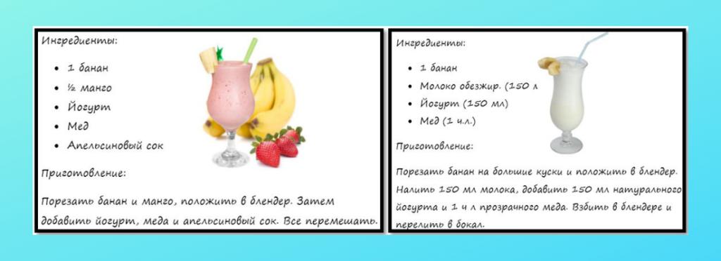 Рецепты приготовления блюд с бананом