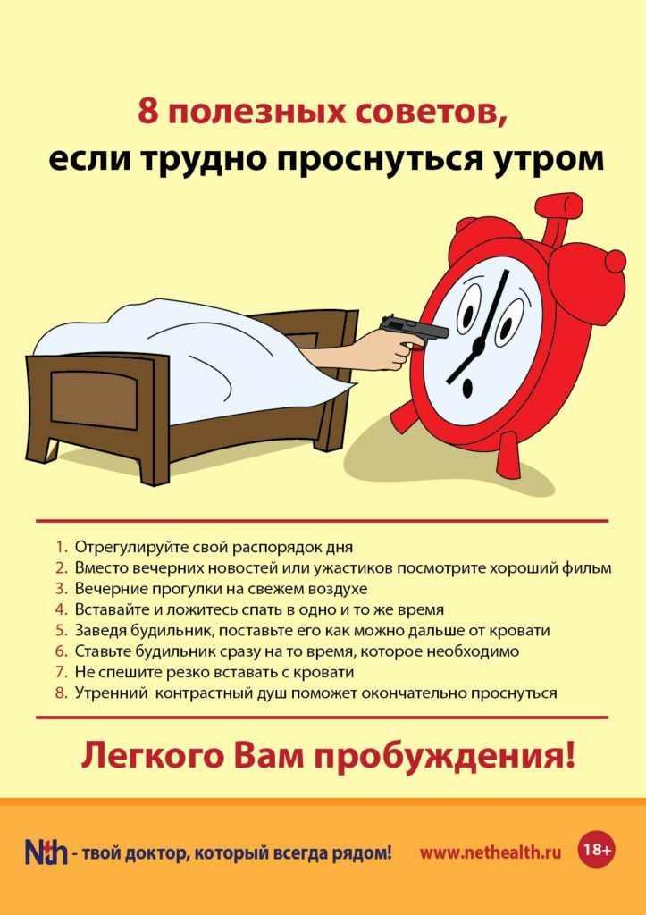 Легко проснуться