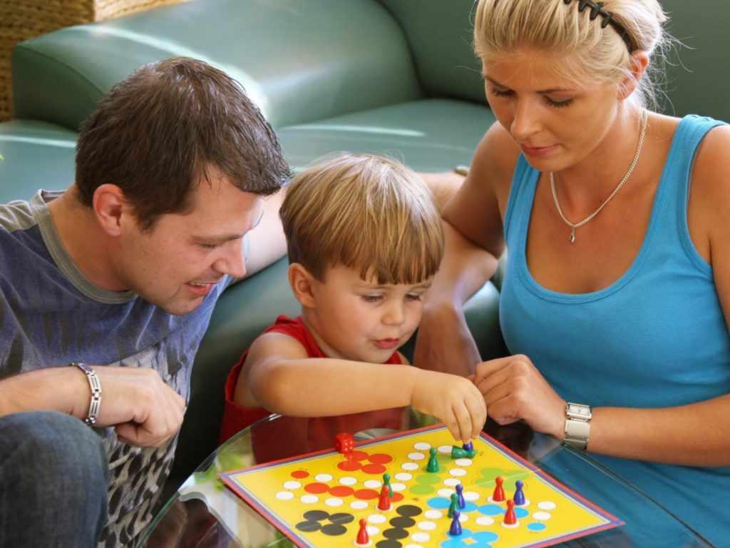 активных игр с малышом