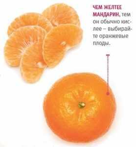 Как выбрать мандарин