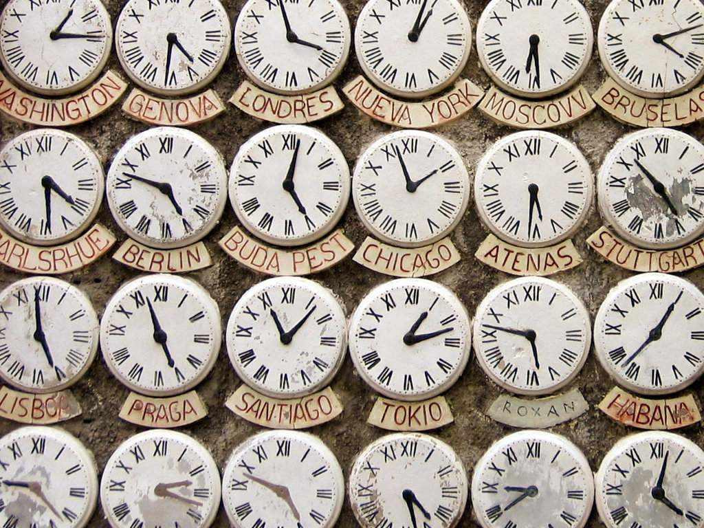 Часовые поясв