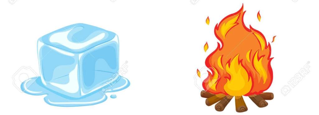 горячего или холодного