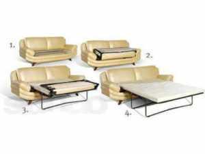 диван конструкция Раскладушка