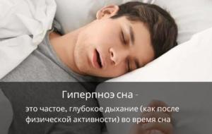 Что такое гиперпноэ сна