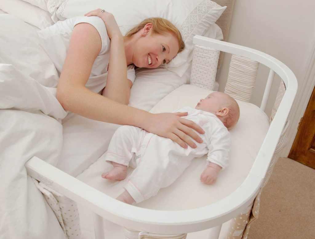 Кроватка для совместного засыпания