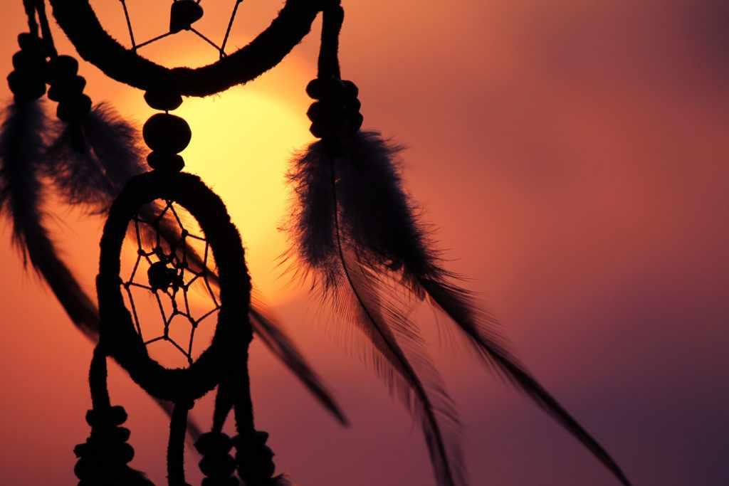 ловец снов на солнце