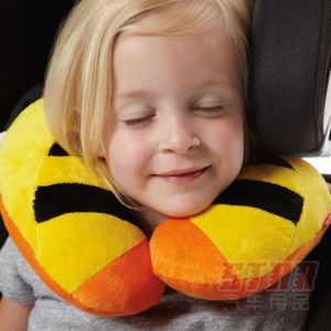 Ребенок, подушка-рогалик